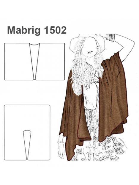 ABRIGO CAPA MUJER 1502