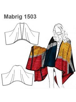 ABRIGO CAPA MUJER 1503