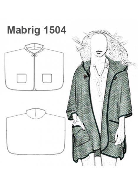 ABRIGO CAPA MUJER 1504