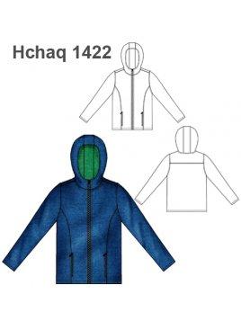 CHAQUETA CAPUCHÓN HOMBRE 1422