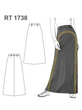 FALDA CHARRA RT 1738