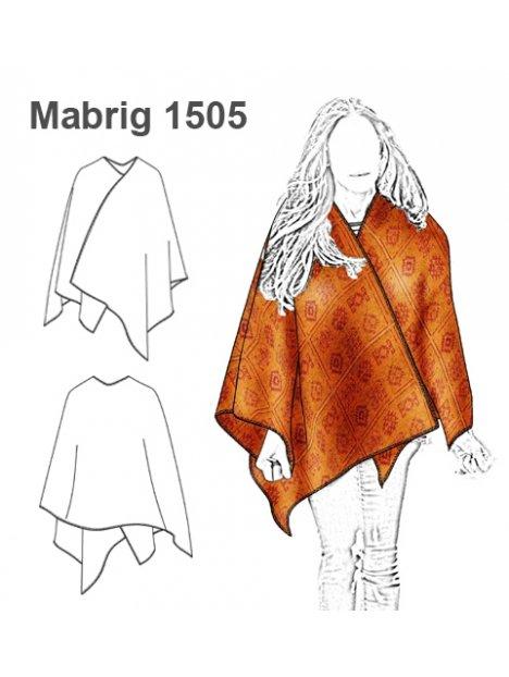 ABRIGO CAPA MUJER 1505