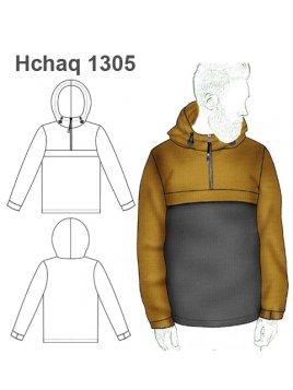 CHAQUETA SOFTSHELL HOMBRE 1305