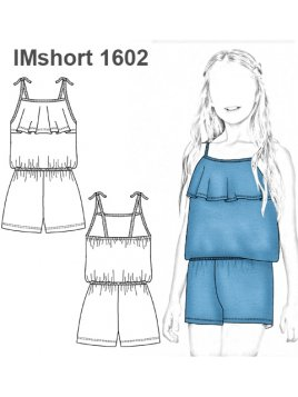 SHORT ENTERITO NIÑA 1602