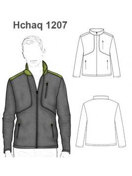 CHAQUETA SOFTSHELL HOMBRE 1207