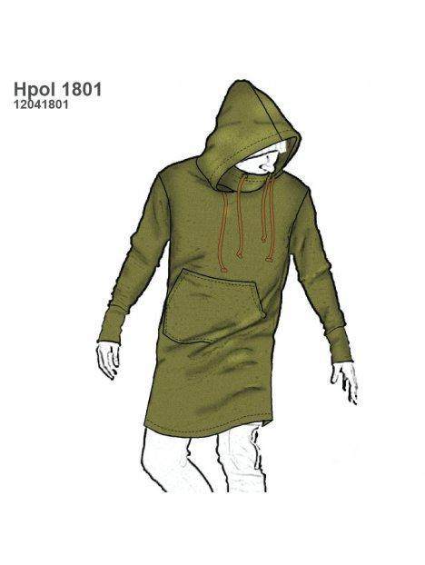 POLERON LARGO HOMBRE 1801