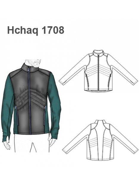 CHAQUETA SOFTSHELL HOMBRE 1708