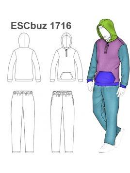 BUZO ESCOLAR 1716