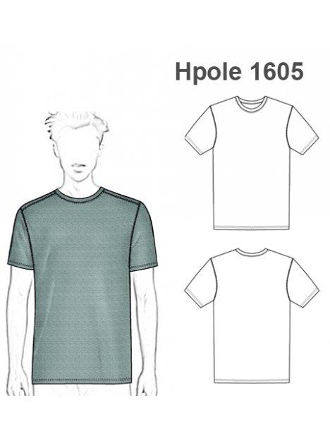 POLERA BASICA HOMBRE 1605