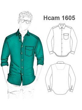 CAMISA SLIM FIT HOMBRE 1605