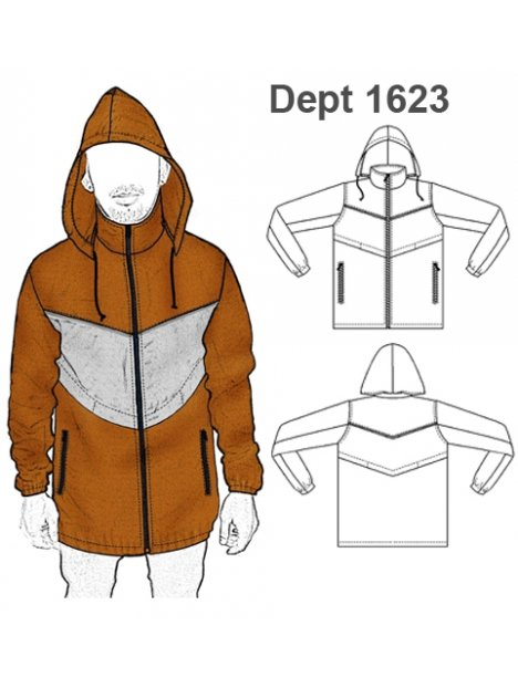 DEPORTE CHAQUETA 1623