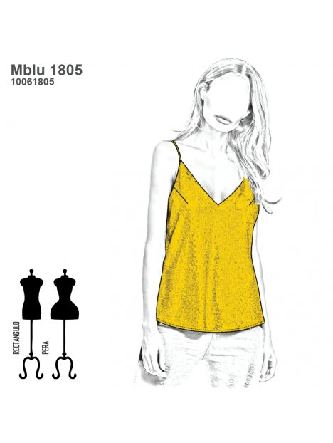 BLUSA TOP MUJER 1805