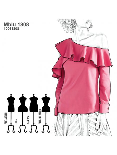 BLUSA VUELOS MUJER 1808