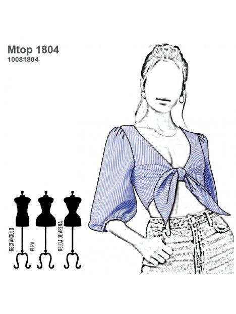 TOP CON LAZO MUJER 1804