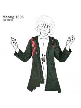 ABRIGO COSPLY MUJER 1806