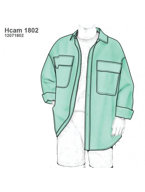 CAMISA OVERSIZE HOMBRE 1802
