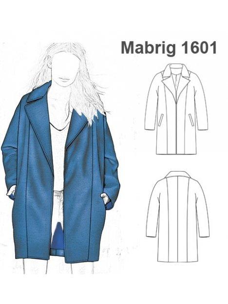 1601 Oversize Molde Molde Abrigo Abrigo Mujer vYgXYqa0w
