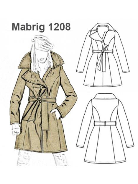 1208 Lazo Lazo Mujer Abrigo Mujer Abrigo 1208 Molde Molde BqwdwFC
