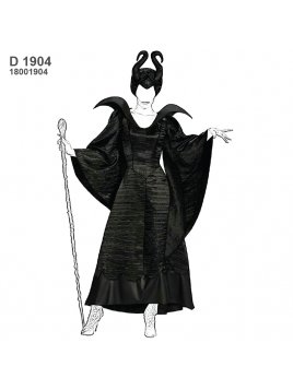 DISFRAZ DE HADA MALA 1904