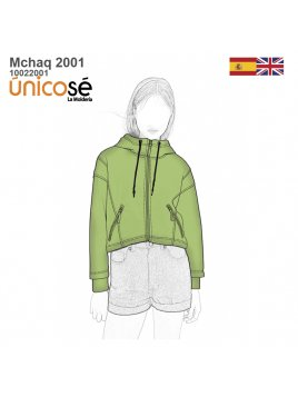 CHAQUETA OVERSIZE MUJER 2001