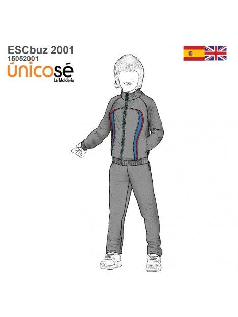 BUZO CORTES ESCOLAR 2001