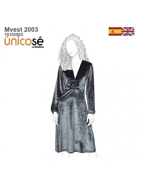 VESTIDO EVASE MUJER 2003