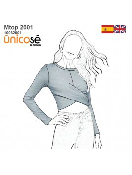 TOP CON CRUCE MUJER 2001