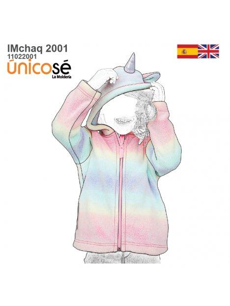 CHAQUETA UNICORNIO NIÑA 2001