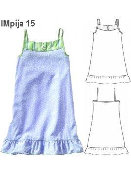 PIJAMA CAMISA NIÑA 0915