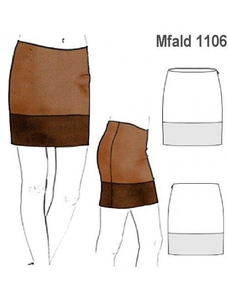 e797fdc4e4 MOLDE  FALDA RECTA MUJER 1106