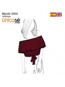 POLERA STRAPLESS 2004