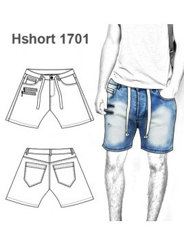 SHORT CON CORDON HOMBRE