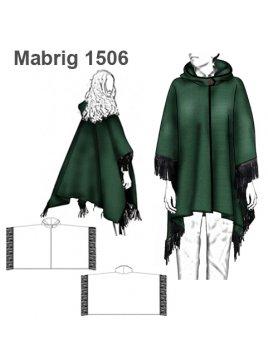 ABRIGO CAPA MUJER 1506