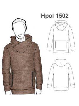 POLERÓN CAPUCHA HOMBRE 1502