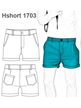 SHORT CHINO HOMBRE 1703