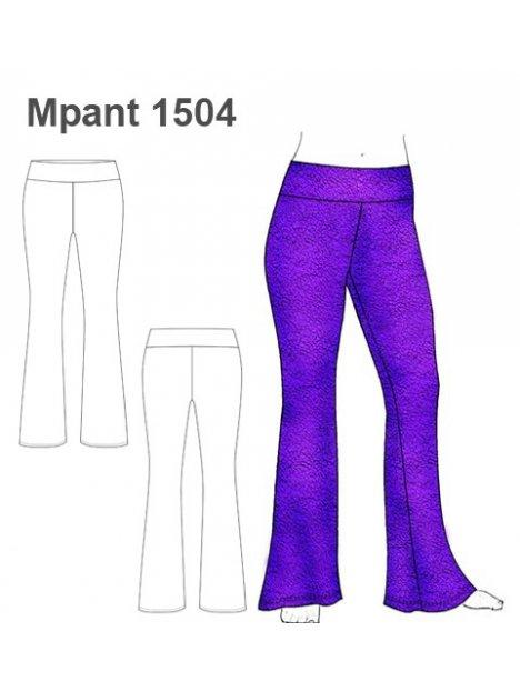 Molde Pantalon Calza Mujer 1504