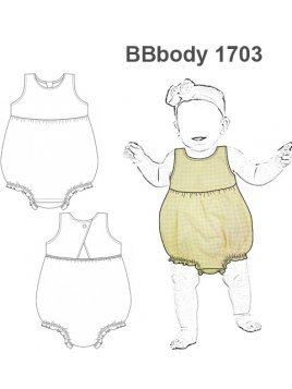 BODY ENTERITO BEBE 1703