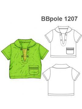 POLERA MARINERA BEBE BBpole 1207