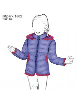 PARKA CORTA NIÑA 1802