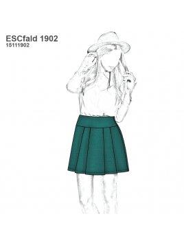 FALDA ESCOLAR CORTA TABLAS 1902