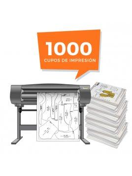 Derechos de Impresion 1000 Moldes